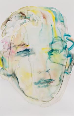 Kim McCarty, Untitled (Green), 2015