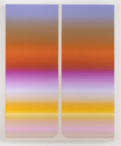 Audrey Stone, Double Pour (Vacant), 2019