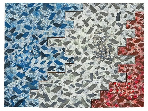 Andrew Schoultz, The Wall In Three Parts (2010 - 2011)