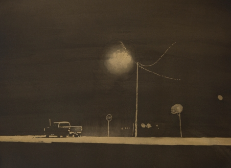 David Rathman, Stations Starting To Fade, 2014
