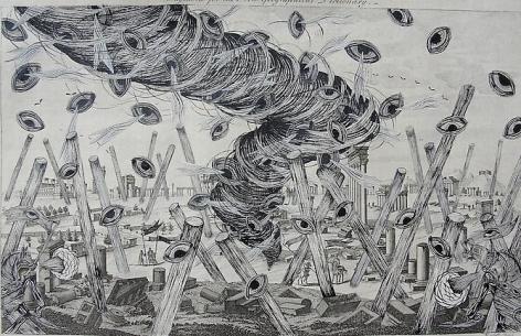 Andrew Schoultz, Revisiting Ancient Ruins (1692-2011)