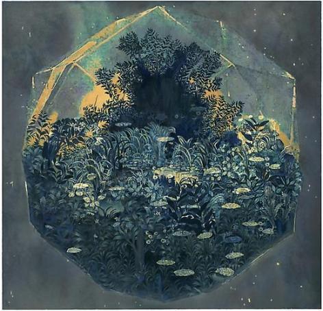 Ben Blatt: Untitled (Blue Diamond) (2012)