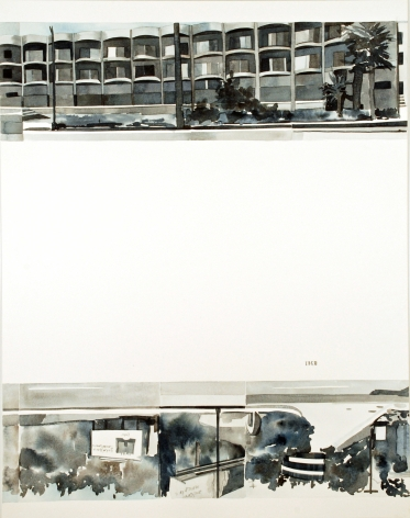 Amy Park, Ed Ruscha's Every Building on the Sunset Strip, #12, 2016