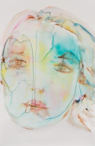 Kim McCarty, Untitled (Turquoise), 2015