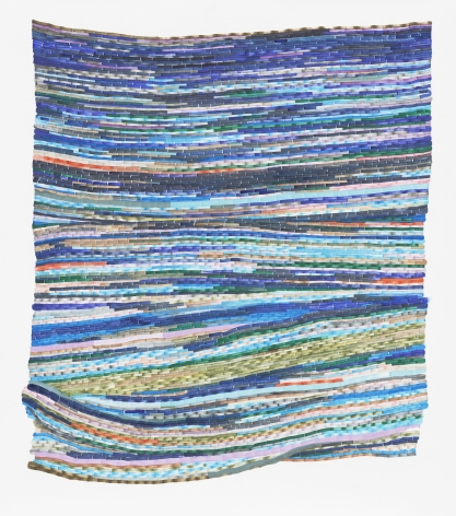 Carly Glovinski, Seaweed Rag Rug, 2019
