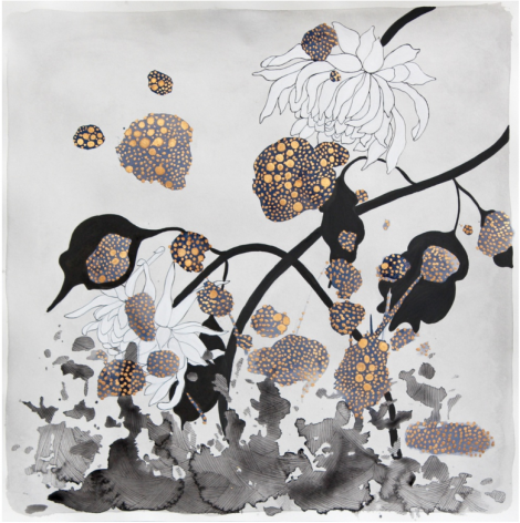 Crystal Liu, the flowers,'wake up', 2014