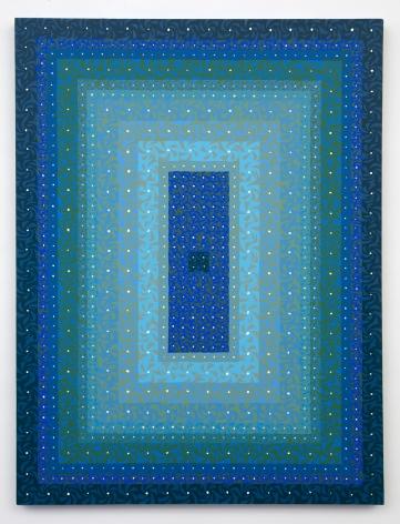 Katia Santibañez, Follow the Blue Gaze, 2016