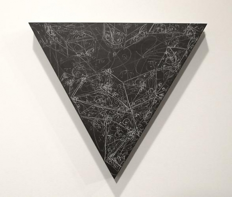 Kysa Johnson, blow up 199 - subatomic decay patterns after Piranesi's view of the Via Appia Antica (2013)