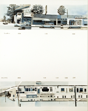 Amy Park, Ed Ruscha's Every Building on the Sunset Strip, #38, 2016