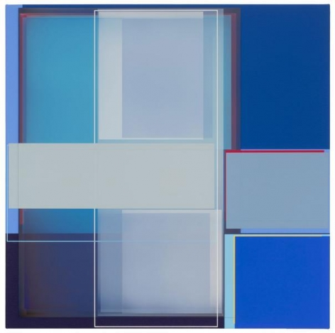 Patrick Wilson, Fly Away, 2014, Acrylic on canvas, 22 x 22 inches, 55.9 x 55.9 cm, A/Y#22150