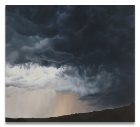 Big Storm Light, 2016, Oil on linen, 70 x 77 inches, 177.8 x 195.6 cm, MMG#30409