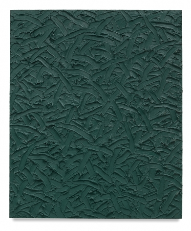 Abstract #27, 2001, Oil on canvas on wood panel, 58 x 48 inches, 147.3 x 121.9 cm, MMG#30147