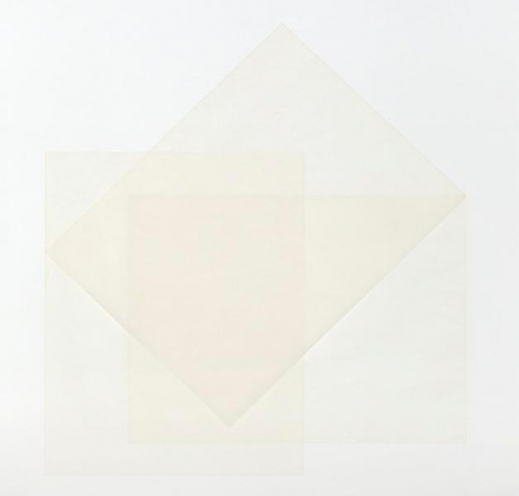 Untitled, 2014, Paper on paper, 17 x 17 inches, 43.2 x 43.2 cm, A/Y#22058
