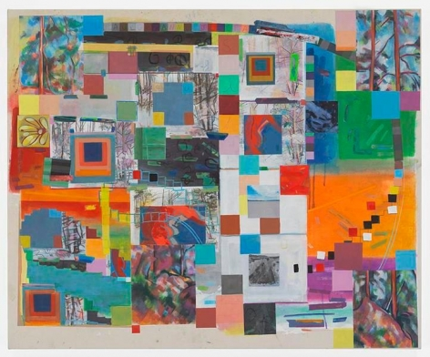 alexandertoaix, 2017, Acrylic on canvas, 43 x 52 inches, 109.2 x 132.1 cm, MMG#29155