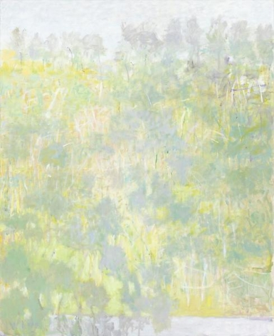 Light Green Landscape, 2009, Oil on canvas, 64 x 52 inches, 162.6 x 132.1 cm, A/Y#18861