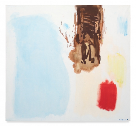 Floating Mirage, 1961,Oil on canvas,78 x 84 inches,198.1 x 213.4 cm,MMG#2443