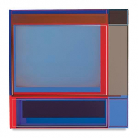 Draw, 2016, Acrylic on canvas, 22 x 22 inches, 55.9 x 55.9 cm, AMY#28425