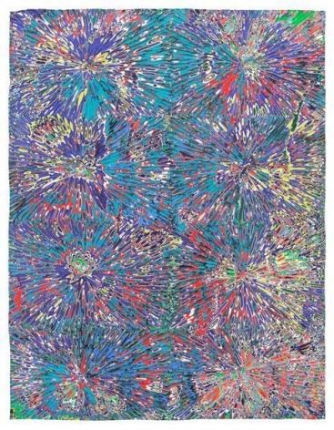 Untitled #8, 2015, Acrylic on wood panel, 18 x 14 inches, 45.7 x 35.6 cm, A/Y#22456