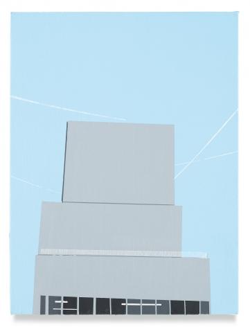 Brian Alfred, New Mu(s), 2019, Acrylic on canvas
