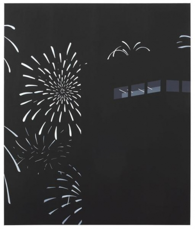 Brian Alfred, 花火, 2015, Acrylic on canvas, 74 x 62 inches, 188 x 157.5 cm, A/Y#22640