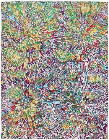 """Untitled #5,"" 2013, Acrylic on wood panel, 14 x 11 inches, 35.6 x 27.9 cm, A/Y#20976"