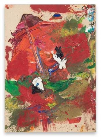 Hans Hofmann, [Untitled], c. 1960 - 1965, Oil on canvas board, 14 x 10 inches, 35.6 x 25.4 cm, AMY#29274