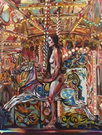 """Lady Godiva,"" 2011, Oil on canvas, 96 x 72 inches, 243.8 x 182.9 cm, A/Y#19913"