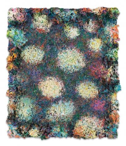 DeepDrippings (Midnight Austin Laze Version), 2020, Oil on board, 25 1/2 x 21 inches, 64.8 x 53.3 cm, (MMG#32152)
