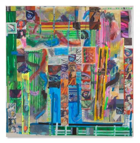 Franklin Evans, nonmonocularandgreen, 2017, Acrylic on canvas