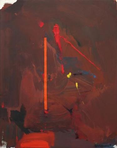 Hans Hofmann, La Deluge, 1964, Oil on canvas, 60 x 48 inches, 152.4 x 121.9 cm, A/Y#8483