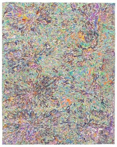 David Allan Peters, Untitled #22, 2014, Acrylic on wood panel, 20 x 16 inches, 50.8 x 40.6 cm, A/Y#21930
