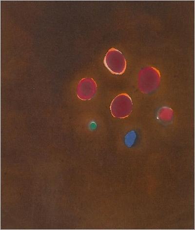 JULES OLITSKI, Lamashtis Pleasure, 1962, Acrylic on canvas, 26 x 22 inches, 66 x 55.9 cm, A/Y#18948
