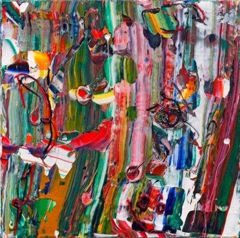 Michael Reafsnyder, Dreamer, 2013, Acrylic on canvas, 22 x 22 inches, 55.9 x 55.9 cm, A/Y#21551