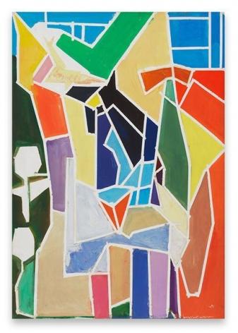 Hans Hofmann, The Blande Interior, 1949, Oil on canvas, 60 x 42 inches, 152.4 x 106.7 cm, AMY#14137