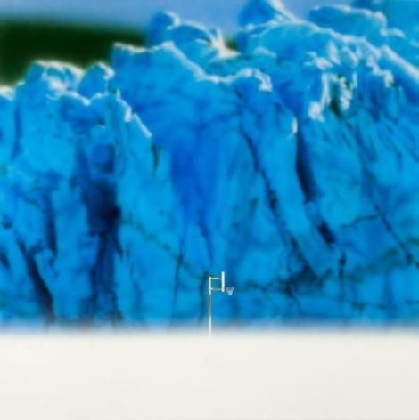 Todd Hebert, Hoop with Glacier, 2014, Acrylic on canvas, 60 x 60 inches, 152.4 x 152.4 cm, A/Y#21629