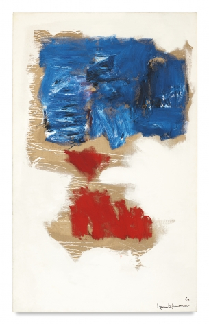 Hans Hofmann, Snow White, 1960, Oil on canvas, 84 x 52  inches, 213.4 x 132.1 cm, MMG#3621,