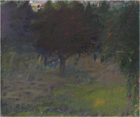 Trees Absorbing Light, 1961, Oil on canvas, 20 x 24 inches, 50.8 x 61 cm, A/Y#10333