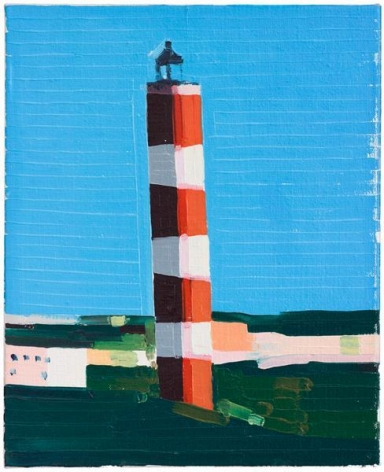 Guy Yanai, The Diving Bell and the Butterfly, 2014, Oil on linen, 14 1/2 x 11 3/4 inches, 37 x 30 cm, A/Y#22003