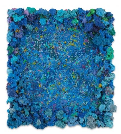 DeepDrippings (Hiss Mystique Mireovian Version), 2019, Oil on board, 16 1/2 x 14 1/2 inches, 41.9 x 36.8 cm,MMG#32146