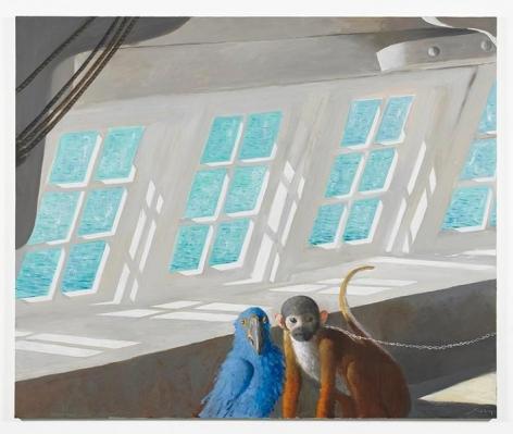 Presuntos Implicados, 2014, Oil on canvas, 60 x 72 inches, 152.4 x 182.9 cm, AMY#22385