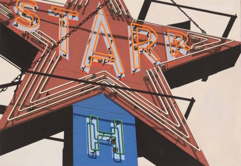 Starr, 1988, Gouache on paper, 16 x 23 1/2 inches, 40.6 x 59.7 cm, AMY#29130