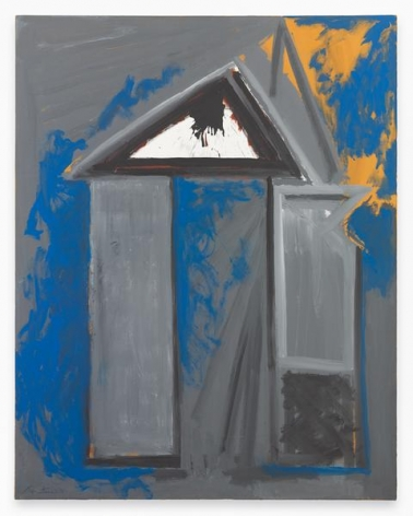 The House of Atreus, 1968-75 / ca. 1990, Acrylic on canvas, 69 x 54 inches, 175.3 x 137.2 cm, MMG#15519