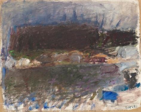Hairbrush Island, 1961, Oil on canvas, 19 x 24 inches, 48.3 x 61 cm, A/Y#10336
