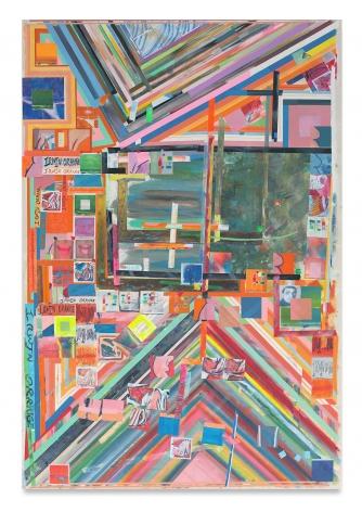 Franklin Evans, irwinorange, 2014, Acrylic on canvas
