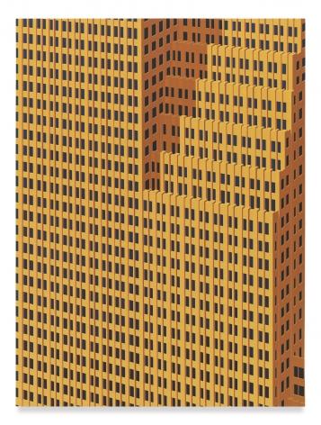 DANIEL RICH, Houston, 2019, Acrylic on dibond, 31 1/2 x 23 1/2 inches, 80 x 59.7 cm,(MMG#31503)