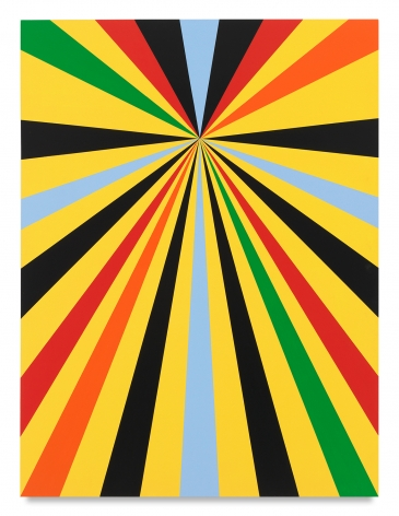 Untitled (North Star), 2020,Acrylic paint on wood,48 x 36 inches,121.9 x 91.4 cm,MMG#32463