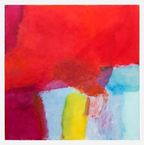 Emily Mason, Joined Forces, 2012, Oil on canvas, 52 1/8 x 52 1/8 inches, 132.4 x 132.4 cm, AMY#28270