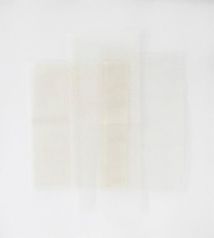 Untitled, 2013, Cotton cloth on paper, 26 1/2 x 23 5/8 inches, 67.3 x 60 cm, A/Y#22061