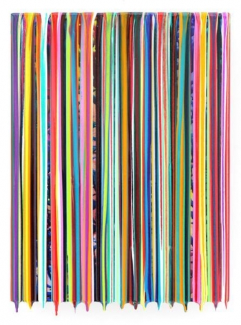 Markus Linnenbrink, I'MSETFREE, 2013, Epoxy resin and pigments on wood, 17 x 13 inches, 43.2 x 33 cm, A/Y#21341