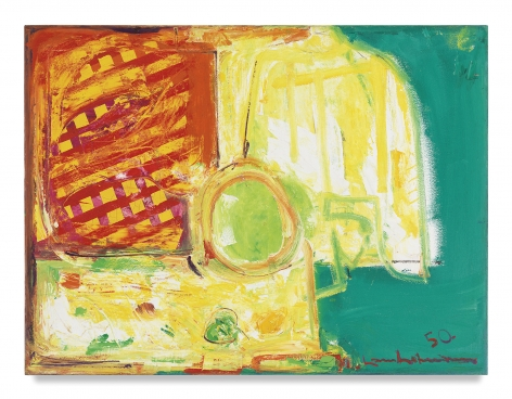 The Pumpkin, 1950, Oil on canvas, 36 x 48 inches, 91.4 x 121.9 cm, MMG#2781